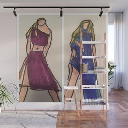 Dream gril all over shirt Wall Mural