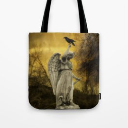 Golden Eclipse Tote Bag