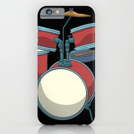Drum Basedrum Snare Tomtom Crash Hi-hat iPhone Case