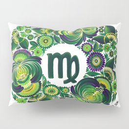 Virgo in Petrykivka style (with signature) Pillow Sham