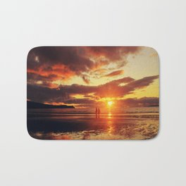 Love,walks and Sunsets Bath Mat