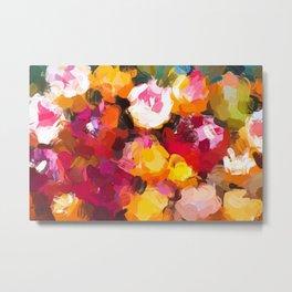 Delicious Floral Metal Print
