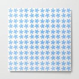from a true flower 6 blue Metal Print