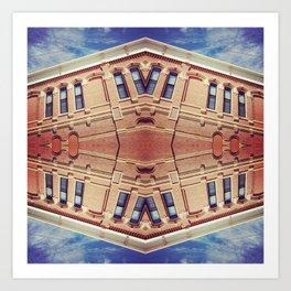Building Center Art Print