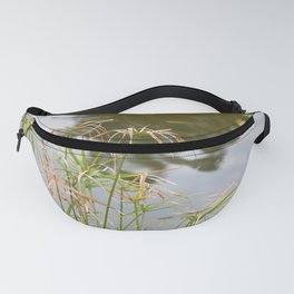 Facing the lake Fanny Pack
