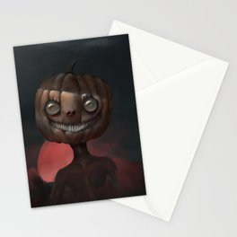 Scary Smile Stationery Cards