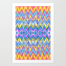 ethnic patterned Phone case Art Print