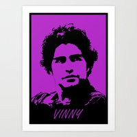 entourage Art Prints featuring Entourage - Vinny Chase by StriveArt