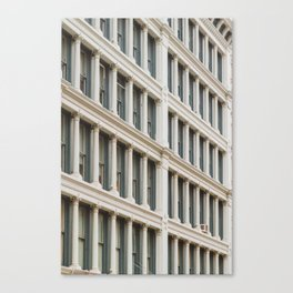 Column by Column in Soho Canvas Print