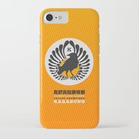 volleyball iPhone & iPod Cases featuring Karasuno High Volleyball Club by robin