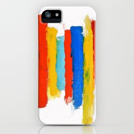 Inequality. Bright abstract. iPhone Case