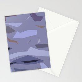 Fragmented Violet Stationery Cards