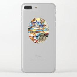 Glitch Pin-Up Redux: Yasmin & Yardley Clear iPhone Case