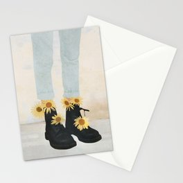 My Boots Stationery Cards