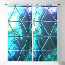 Triangle Glass Tiles 220 Blackout Curtain
