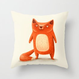 I am autumn (2) Throw Pillow