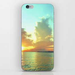 Sunset on Lake Constance iPhone Skin