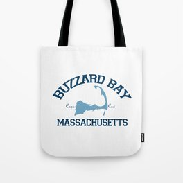 Buzzards Bay. Cape Cod Tote Bag