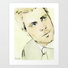 Arrow Portrait Series: Oliver Queen Art Print