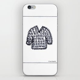 WOOLLY JUMPER - SWEATER TO YOU iPhone Skin
