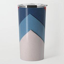 Geometric Design Travel Mug
