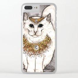 Norwegian Cat Clear iPhone Case