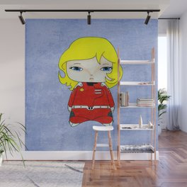 A Girl - Joan Randall (Captain Future) Wall Mural