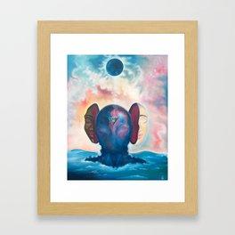 A Soul is Born Framed Art Print
