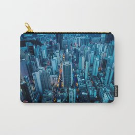 Hong Kong downtown at night Carry-All Pouch