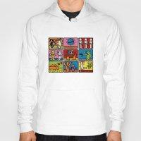 keith haring Hoodies featuring Haring - étoiles W. by Krikoui