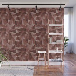 Abstract Geometrical Triangle Patterns 3 Dunn Edwards Spice of Life DET439 Wall Mural
