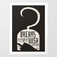 peter pan Art Prints featuring Peter Pan  by Abbie Imagine