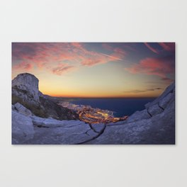 Solid Rocks Canvas Print