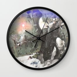 Beauty and the Beast // 001 Wall Clock