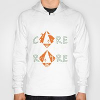 rare Hoodies featuring Care for the rare by SilviaGancheva