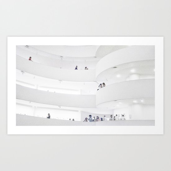 Guggenheim II Art Print