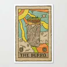 The Burro. Canvas Print