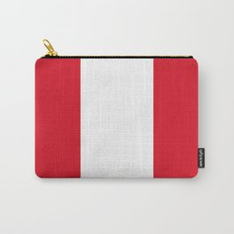 Flag of Peru Carry-All Pouch