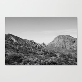 Big Bend,Texas Canvas Print