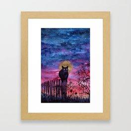 The Hours Inbetween Framed Art Print