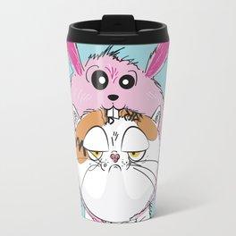 Not your average easter bunny Travel Mug