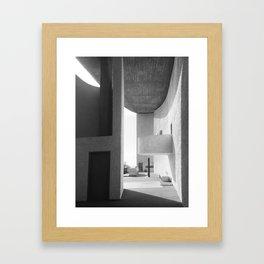 Ronchamp Chapel 001 Framed Art Print
