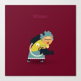 A&A - Hitnan. Canvas Print