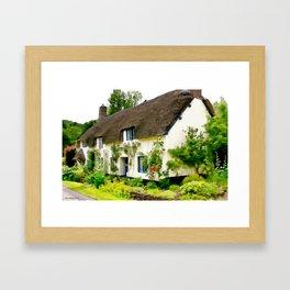 English Cottage Framed Art Print