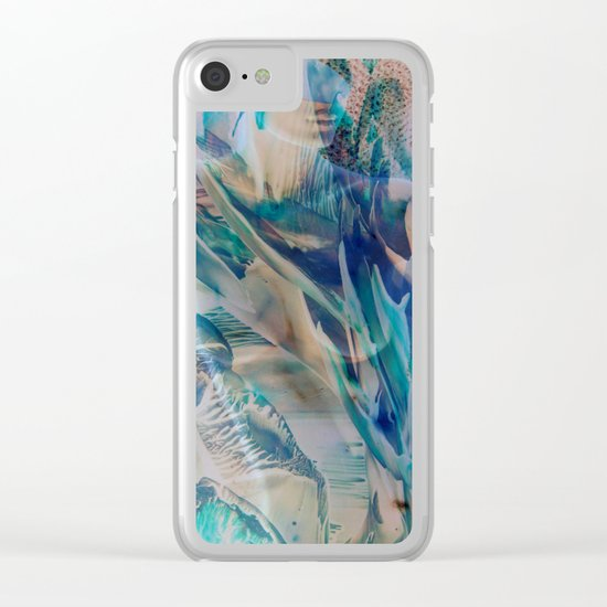 #55 Clear iPhone Case