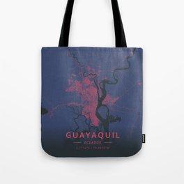 Guayaquil, Ecuador - Neon Tote Bag