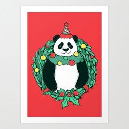 Beary Christmas Art Print