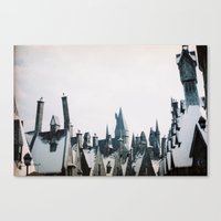 hogwarts Canvas Prints featuring Hogwarts by Thad Kopec