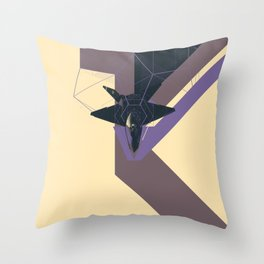 STEALTH:YF-23 Blackwidow II Throw Pillow