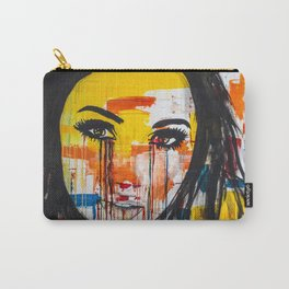 The unseen emotions of her innocence Carry-All Pouch